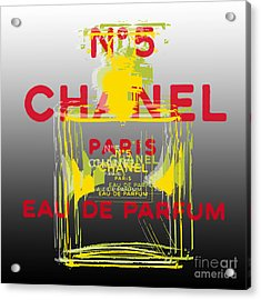 Chanel  No. 5 Pop Art - #1 Acrylic Print
