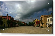 Acrylic Print featuring the photograph Change In The Weather by Anne Kotan