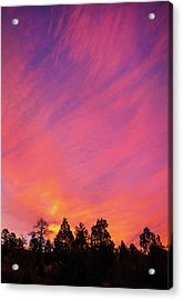 Change Is Often A Challenge Which Both Excites The Soul And Frightens The Body. Acrylic Print