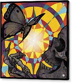 Change Mandala Acrylic Print