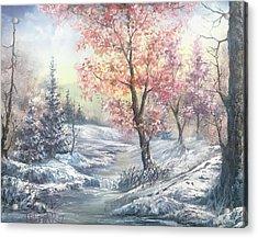 Change Of Seasons  Acrylic Print