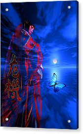Acrylic Print featuring the digital art Changes by Shadowlea Is