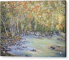 Changing Seasons Acrylic Print by Bev  Neely