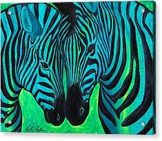 Changing Stripes Acrylic Print