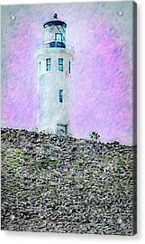 Channel Islands Lighthouse Acrylic Print
