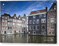 Channles Of Amsterdam Acrylic Print by Andre Goncalves