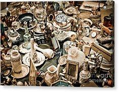 Chaos Acrylic Print by Gabriela Insuratelu