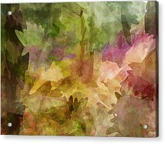 Chaos Acrylic Print by Sandy Belk