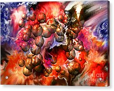 Chaos Spheres By Spano Acrylic Print
