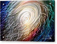 Chaos Theory Acrylic Print by Kerry Krueger