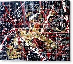 Chaos Theory Acrylic Print by Tara Baden