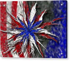 Chaotic Star Project - Take 3 Acrylic Print