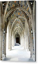 Chapel Archway Acrylic Print