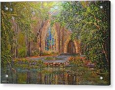 Chapel At Callaway Acrylic Print