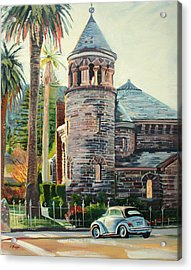 Chapel Bug Acrylic Print by Colleen Proppe