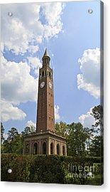 Chapel Hill Bell Tower Acrylic Print