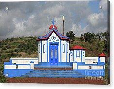 Chapel In Agua De Pau - Azores Acrylic Print by Gaspar Avila