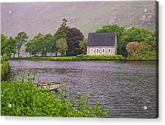 Chapel In The Mist - Gougane Barra - County Cork - Ireland Acrylic Print