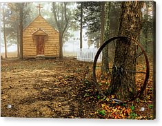 Chapel In The Woods 1 Acrylic Print