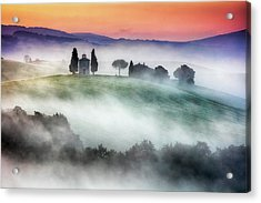 Chapel Of Our Lady Of Vitaleta Acrylic Print by Evgeni Dinev