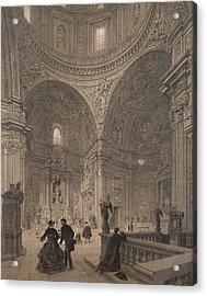 Chapel Of St Ignatius Of Loyola Acrylic Print by Felix Benoist