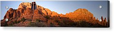 Chapel Of The Holy Cross Acrylic Print by David Sunfellow