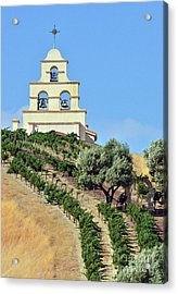 Chapel On The Hill Acrylic Print