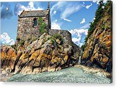 Chapel Saint-aubert Acrylic Print