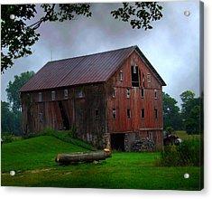 Chapman Lake Barn Acrylic Print