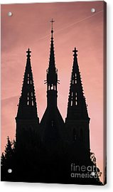 Chapter Church Of St Peter And Paul Acrylic Print by Michal Boubin