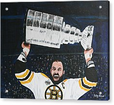Chara And The Cup Acrylic Print by Betty-Anne McDonald