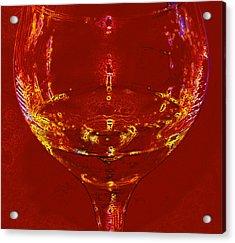 Chardonnay Acrylic Print by John Stuart Webbstock