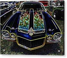 Charged Up Camaro Acrylic Print