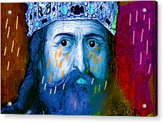 Charlemagne Crying For Faithless Europa Acrylic Print by Paul Sutcliffe