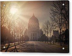 Charles Borromeo Church Zentralfriedhof Vienna Acrylic Print by Carol Japp