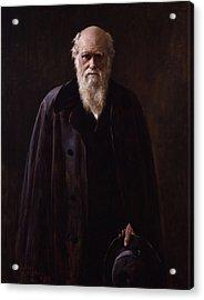 Charles Darwin - By John Collier Acrylic Print
