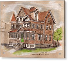 Charles Fairfield House Salem Acrylic Print by Paul Meinerth