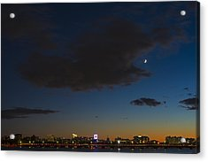 Charles River Sunset Boston Massachusetts Acrylic Print by Toby McGuire