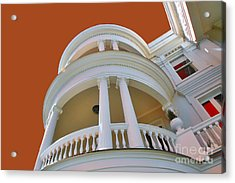 Charleston Architecture Acrylic Print by Wendy Mogul