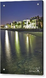 Charleston Battery Row At Dawn Acrylic Print