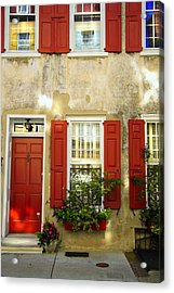 Charleston Charm Acrylic Print by Wendy Mogul