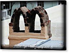 Charleston Chimneys 101 Acrylic Print