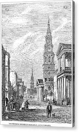 Charleston: Church, 1861 Acrylic Print by Granger