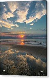 Charleston Coast Sunrise Acrylic Print