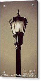 Charleston Morning Streetlight Acrylic Print