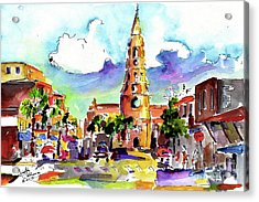Charleston North Market Street Acrylic Print