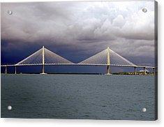 Charleston Ravenel Bridge Acrylic Print by Skip Willits