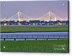 Charleston South Carolina Skyline Acrylic Print
