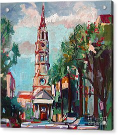 Charleston St Phillips Church Acrylic Print