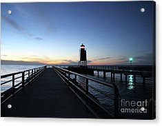 Charlevoix Light Tower Acrylic Print